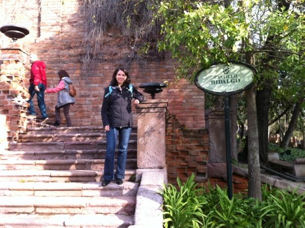 Katherine Quevedo at Castillo Hidalgo