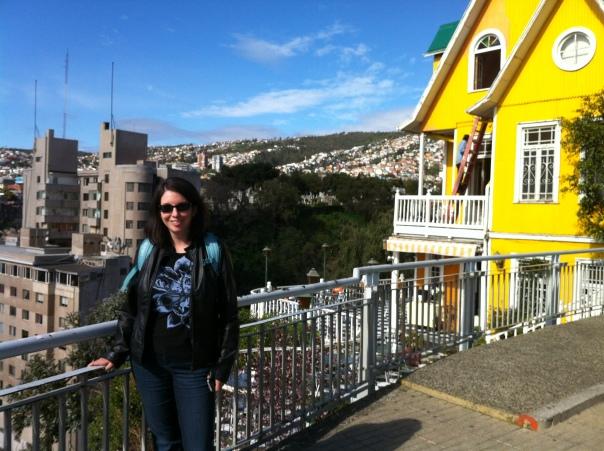 Katherine Quevedo in Valparaiso