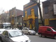 Across from Boca Juniors