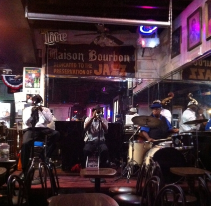 Bourbon St. jazz club