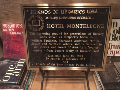 Hotel Monteleone Book Display