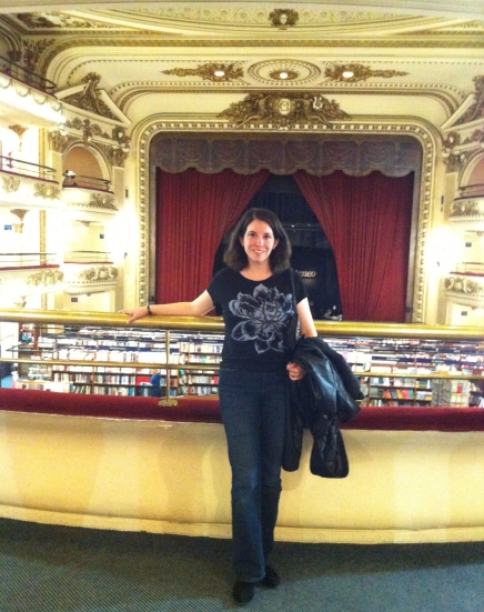 Katherine Quevedo in El Ateneo Grand Splendid