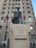 Salvador Allende statue