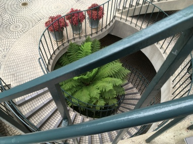 Embarcadero stairway