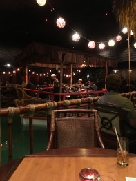Tonga Room band on a boat