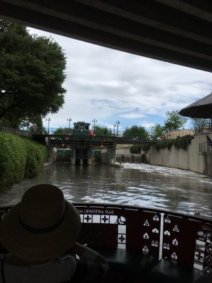 San Antonio River Lock & Dam