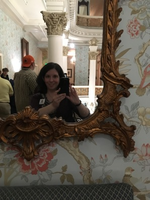 The Menger Hotel mirror