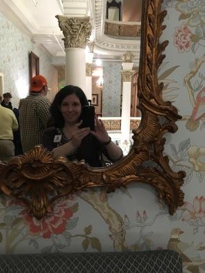 The Menger Hotel mirror