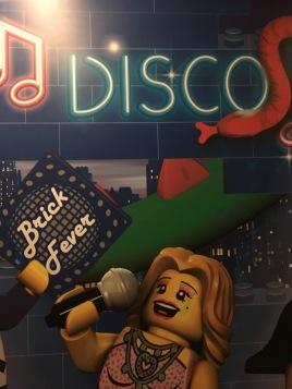 LEGOLAND Hotel disco elevator interior